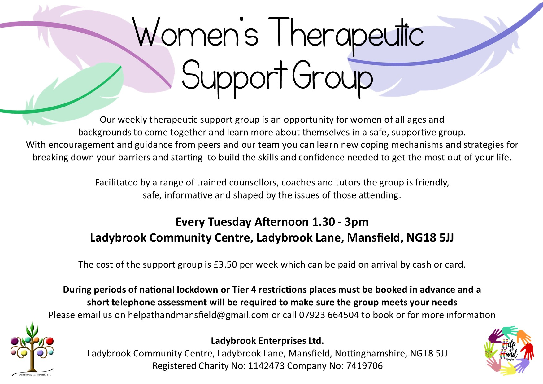 womens therapeutic support group