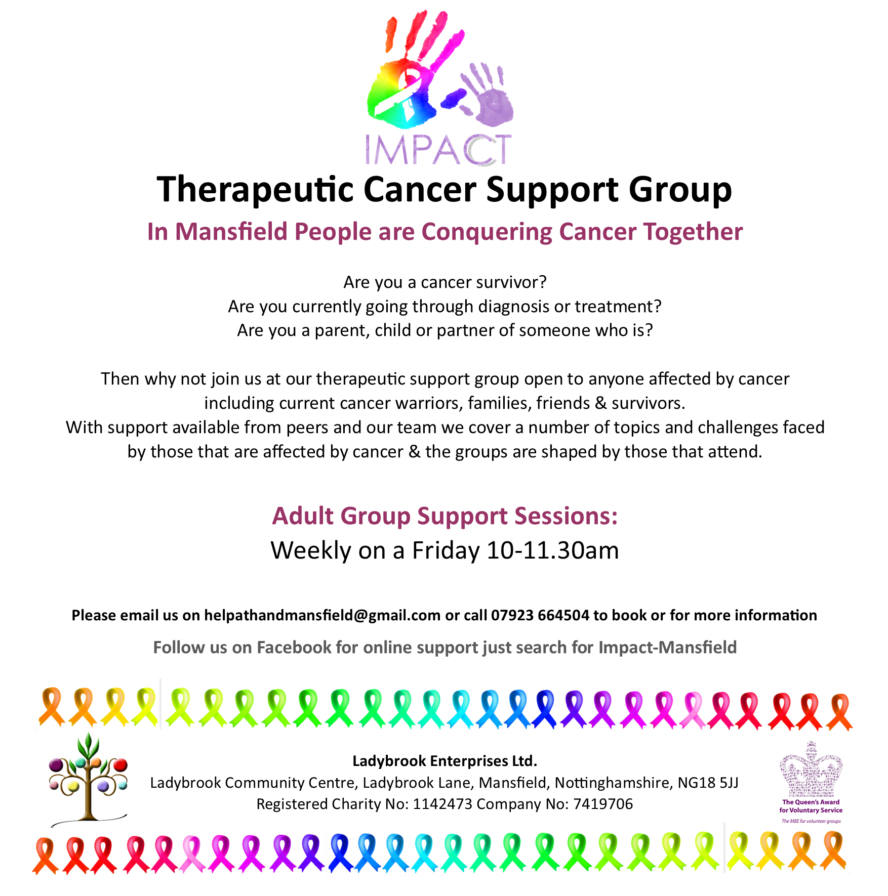 IMPACT therapeutic support poster