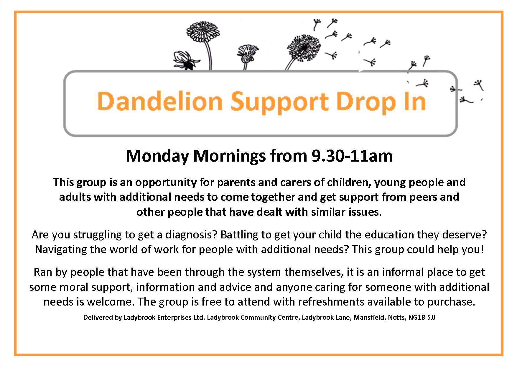 dandelion support
