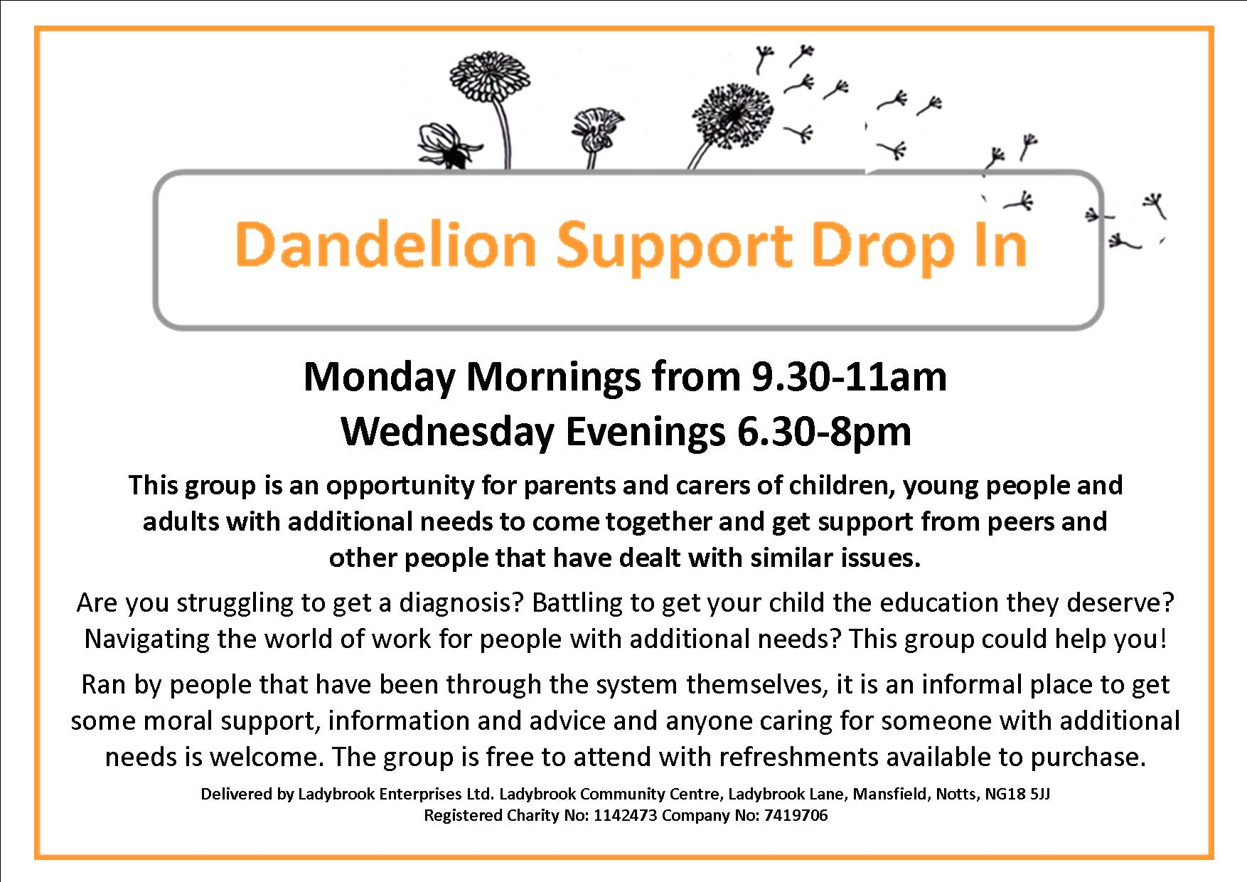dandelion support